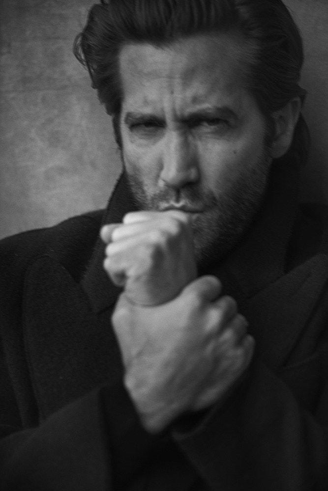 Fotó: Peter Lindbergh: Jake Gyllenhaal, New York, 2019 © Peter Lindbergh (All photos courtesy of the Peter Lindbergh Foundation)