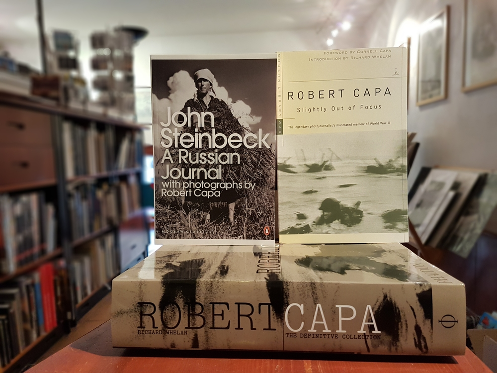 Robert Capa: The Definitive Collection<br />Robert Capa: Slightly Out of Focus<br />John Steinbeck: A Russian Journal