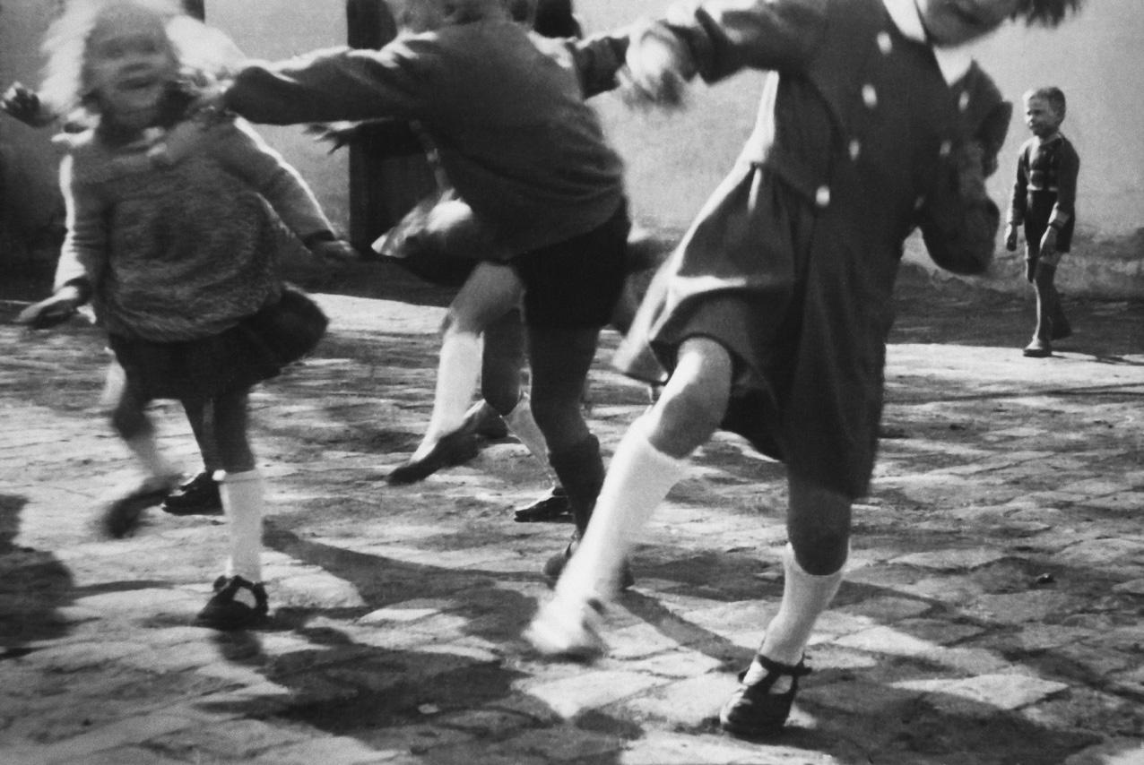Fotó: Lazukics Anna: Lendület, Újvidék, Vajdaság, Bácska, 1954