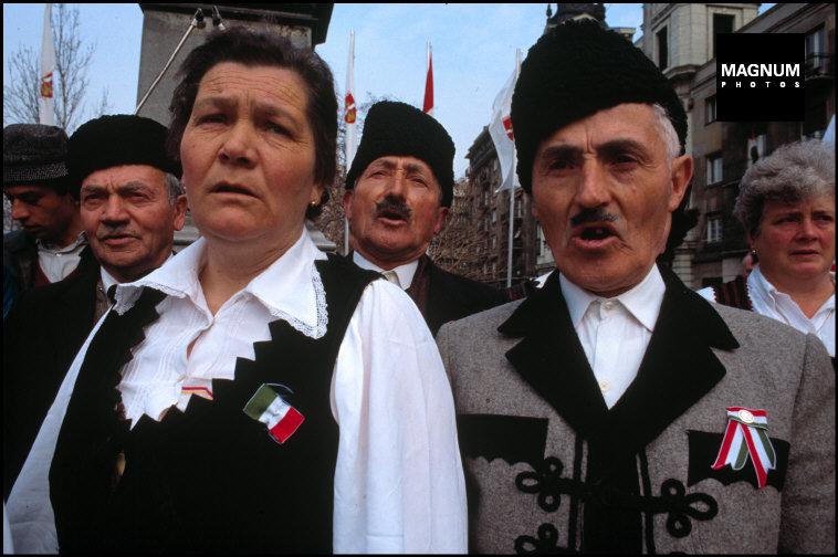 Fotó: A. Abba: Budapest. Az Országgyűlési választások napján, 1990. március © A. Abbas/Magnum Photos<br />