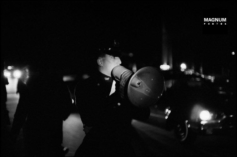 René Burri éjszakai sorozata a New York-i áramszünetről - 1965. november 9.