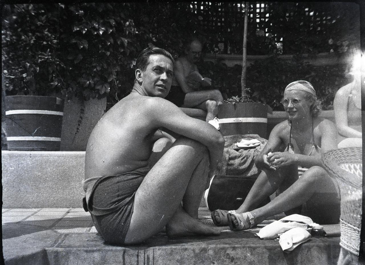 Fotó: Pusztai Sándor: Hunyady Ferenc gróf (1895-1966) földbirtokos  © Pusztai Sándor örökösei - FSZEK Budapest Gyűjtemény
