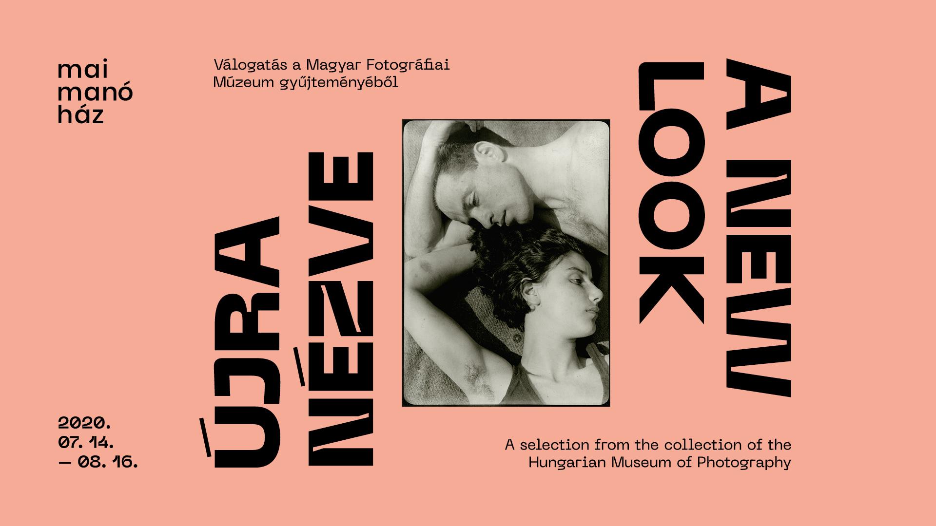 ÚJRANÉZVE<br />Válogatás a Magyar Fotográfiai Múzeum gyűjteményéből<br />A kiállítás megtekinthető:<br />2020. július 14. – augusztus 16.<br />Kedd – vasárnap 12 és 19 óra között.<br />Hétfőn és ünnepnapokon zárva.<br /><br />Kurátorok:<br />Baki Péter - Székely Aladár<br />Balogh Viktória - Haár Ferenc<br />Barta Edit - Haller F.G.<br />Kiss Imre - Berekméri Zoltán<br />Schuller Judit Flóra - Máté Olga