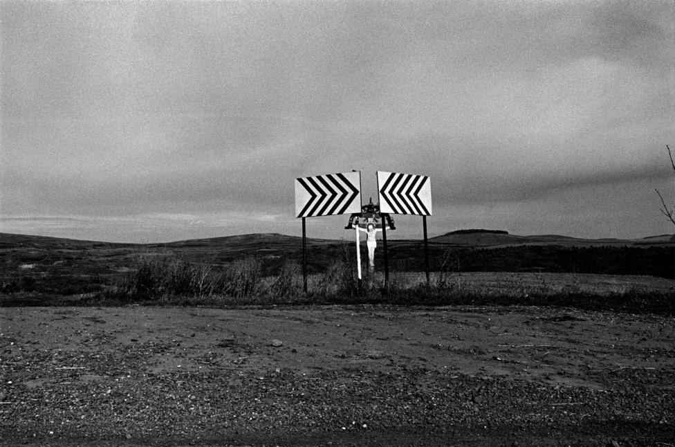 Fotó: Molnár Zoltán: Mezőség, Erdély 1997