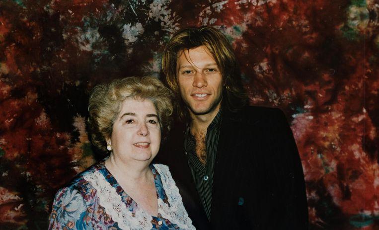 Fotó: Maria Snoeys-Lagler és Jon Bon Jovi