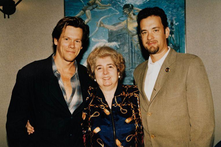 Fotó: Maria Snoeys-Lagler és Kevin Bacon and Tom Hanks