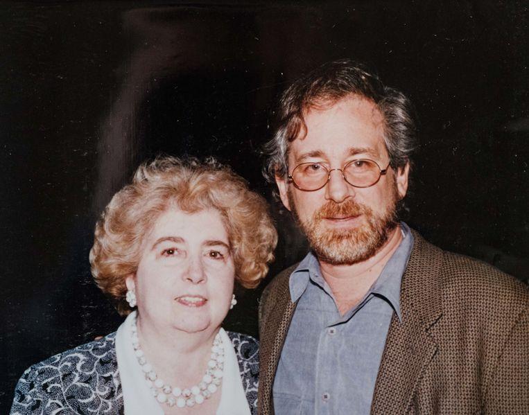 Fotó: Maria Snoeys-Lagler és Steven Spielberg