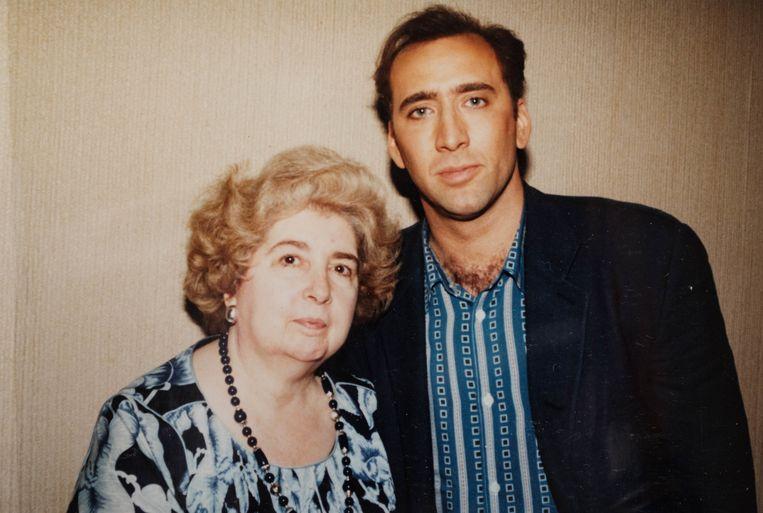 Fotó: Maria Snoeys-Lagler és Nicolas Cage
