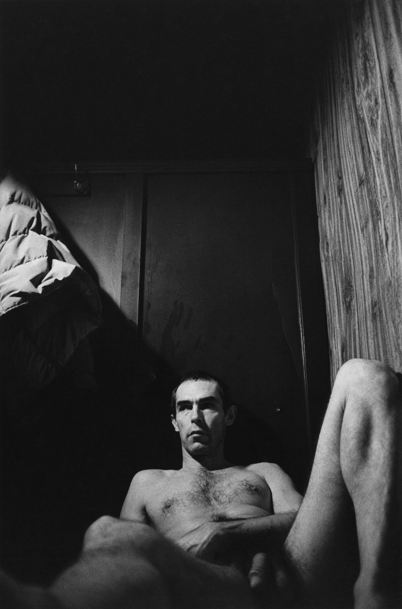 Fotó: Peter Hujar: Self-Portrait in the Baths, 1975  © Peter Hujar Archive / Fraenkel Gallery