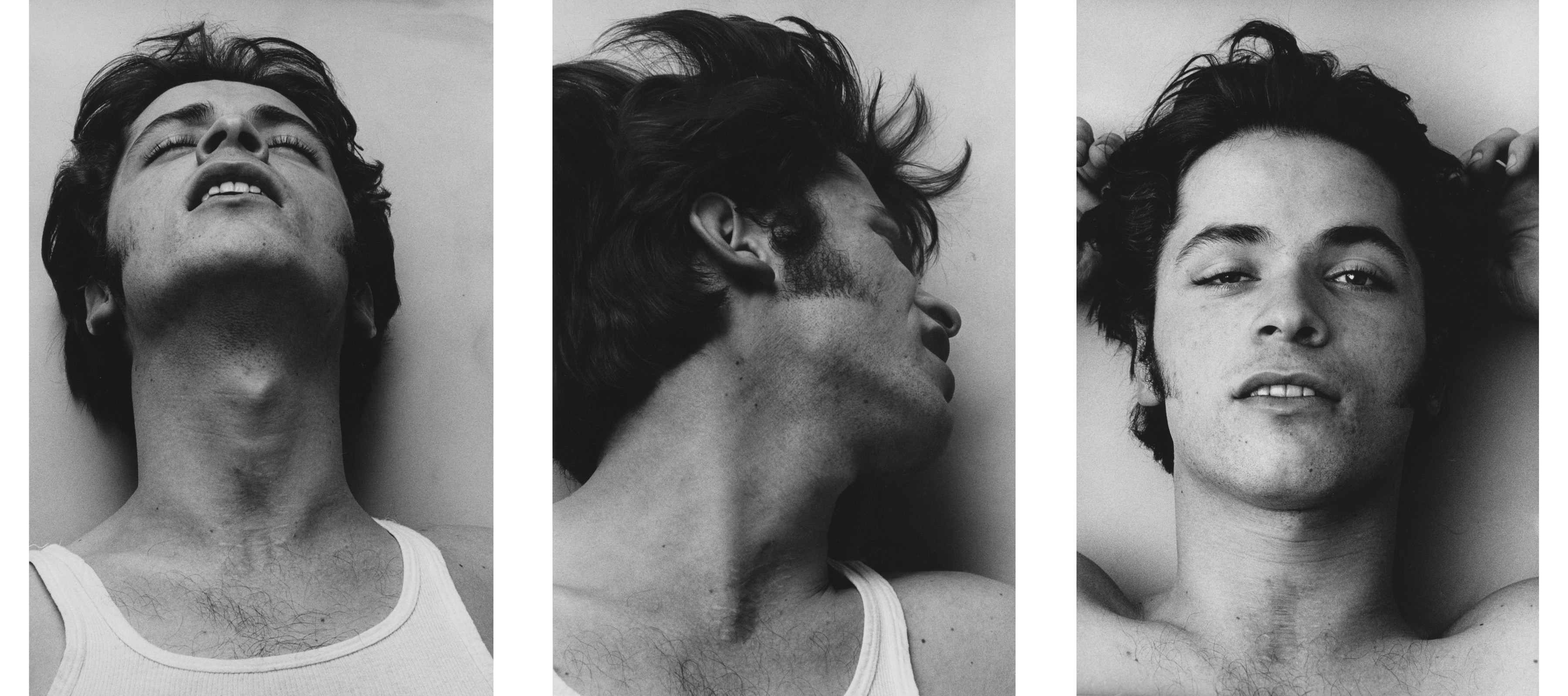 Fotó: Peter Hujar: Orgasmic Man I. II. III., 1969 © Peter Hujar Archive / Fraenkel Gallery