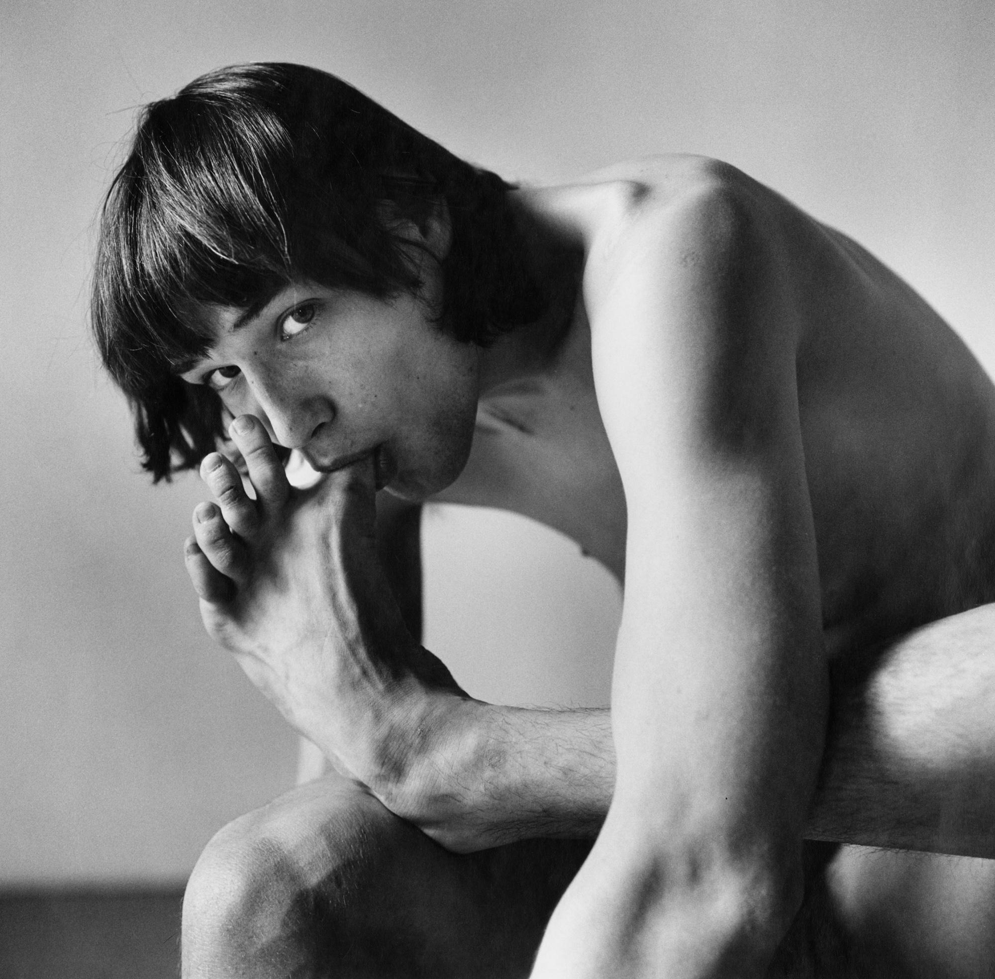 Fotó: Peter Hujar: Daniel Schook Sucking Toe, 1981 © Peter Hujar Archive / Fraenkel Gallery