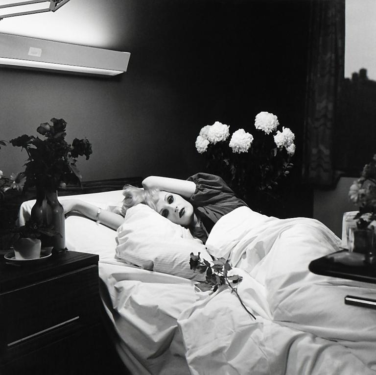 Fotó: Peter Hujar: Candy Darling on Her Deathbed, 1973 © Peter Hujar Archive / Fraenkel Gallery