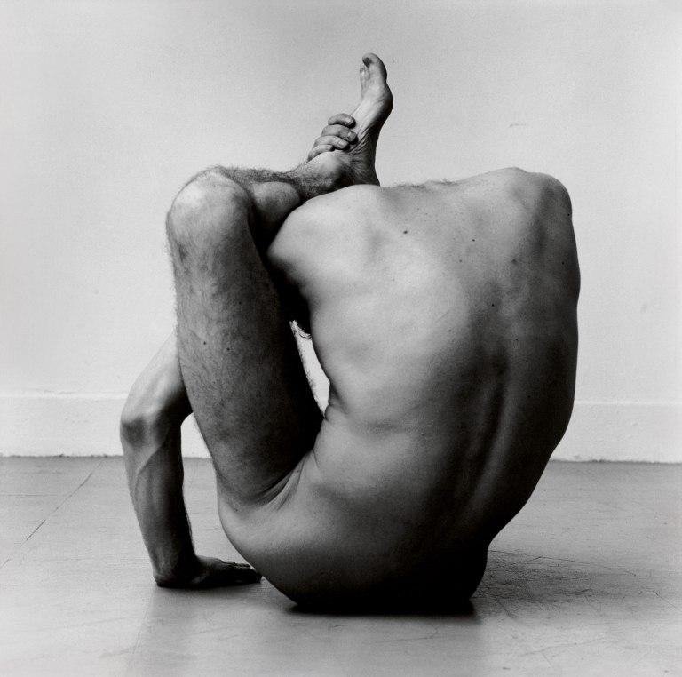Fotó: Peter Hujar: Gary in Contortion, 1979 © Peter Hujar Archive / Fraenkel Gallery