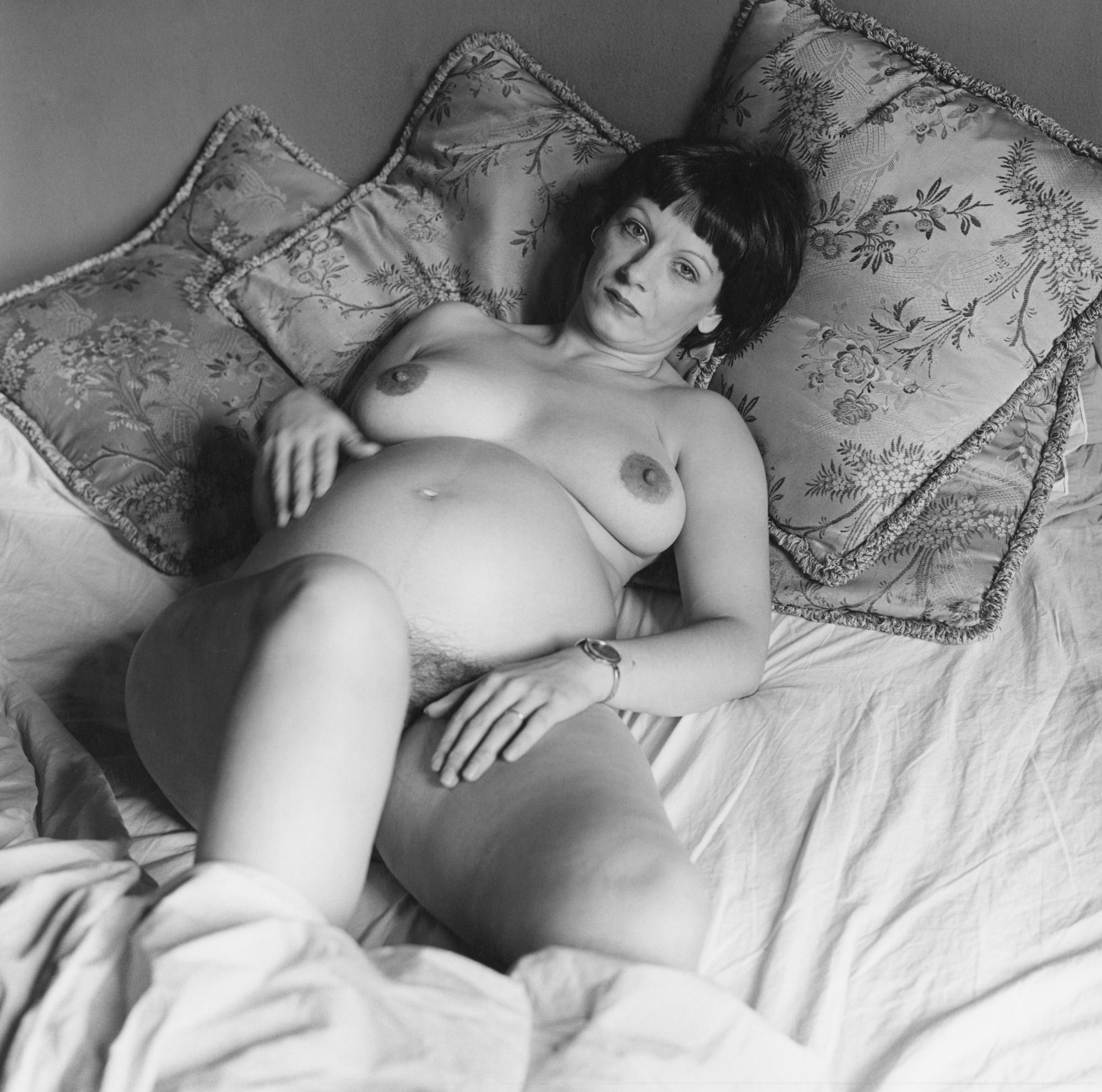 Fotó: Peter Hujar: Lynn Hodenfield Pregnant (I), 1978 © Peter Hujar Archive / Fraenkel Gallery