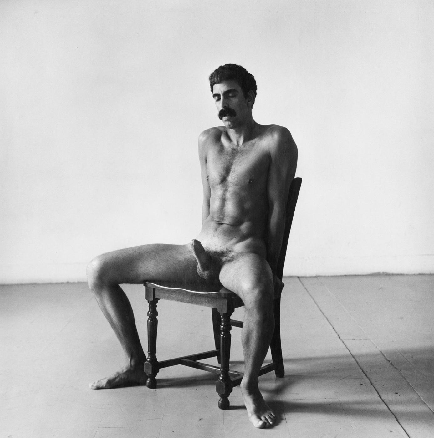 Fotó: Peter Hujar: Seated Nude, 1978 © Peter Hujar Archive / Fraenkel Gallery