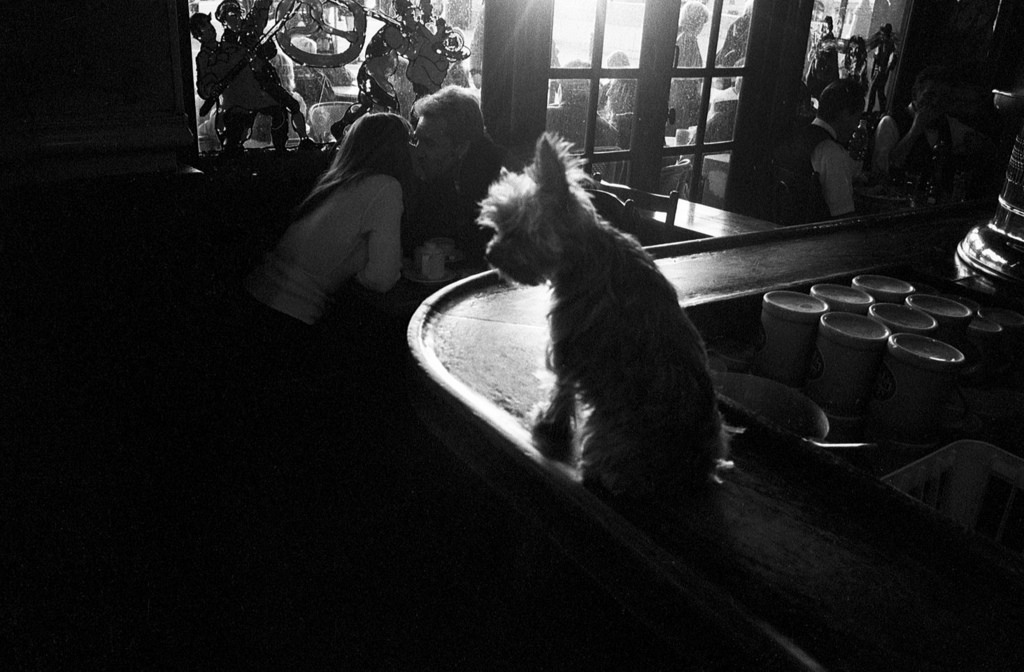 Fotó: Peter Turnley: Brasserie de l'Isle Saint-Louis, 1998 © Peter Turnley