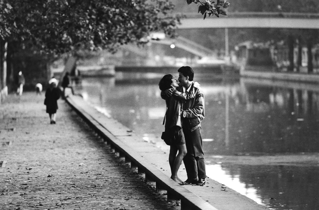 Fotó: Peter Turnley: Canal Saint-Martin, 1984 © Peter Turnley