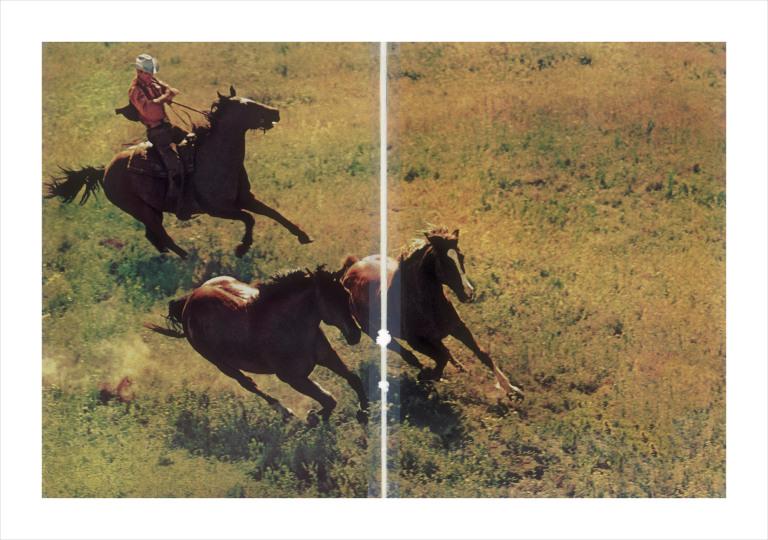 Fotó: Richard Prince: Untitled (cowboy), 2015 © Los Angeles County Museum of Art/Richard Prince