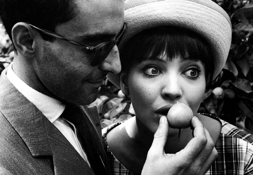 Fotó: Robert Lebeck: Jean-Luc Godard és felesége, Anna Karina, Berlin, 1961 © Robert Lebeck