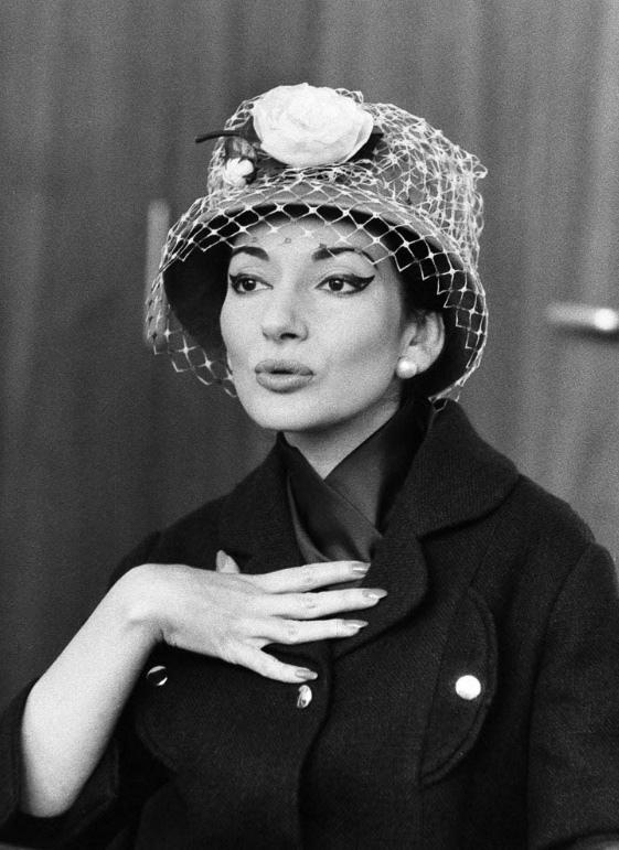 Fotó: Robert Lebeck: Maria Callas, Stuttgart, 1959 © Robert Lebeck