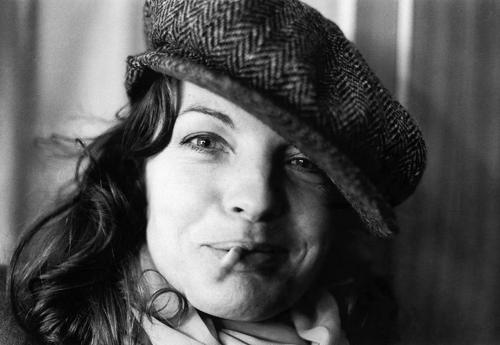 Fotó: Robert Lebeck: Romy Schneider, Berlin, 1976 © Robert Lebeck