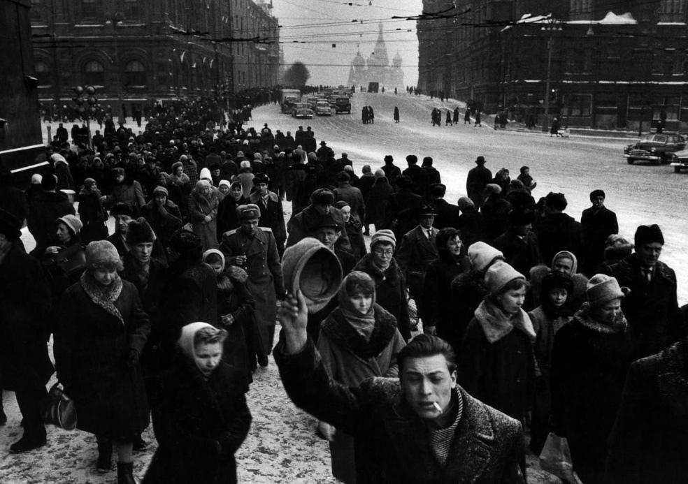 Fotó: Robert Lebeck: Moszkva, 1962 © Robert Lebeck