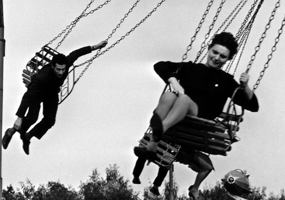 Fotó: Robert Lebeck: Gorkij Park, Moszkva, 1962 © Robert Lebeck