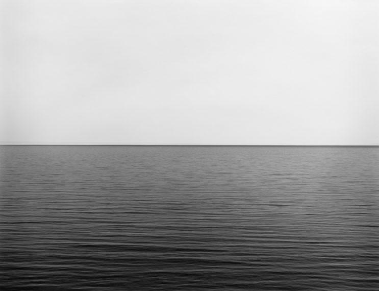Fotó: Hiroshi Sugimoto: Lake Superior, Point Isabelle, 2003 © Fraenkel Gallery/Hiroshi Sugimoto