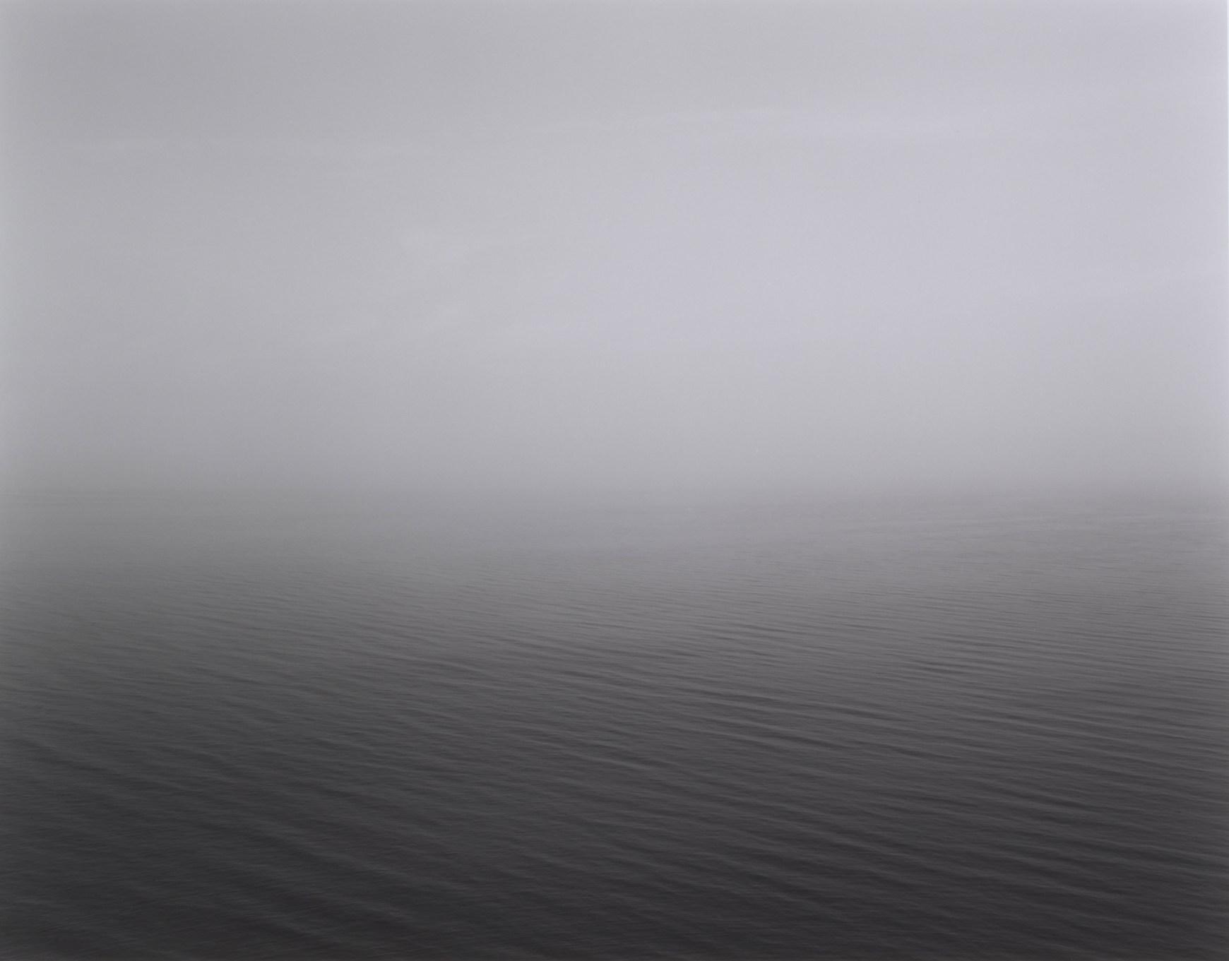 Fotó: Hiroshi Sugimoto: Black Sea, Ozuluce, 1991 © Guggenheim/Hiroshi Sugimoto