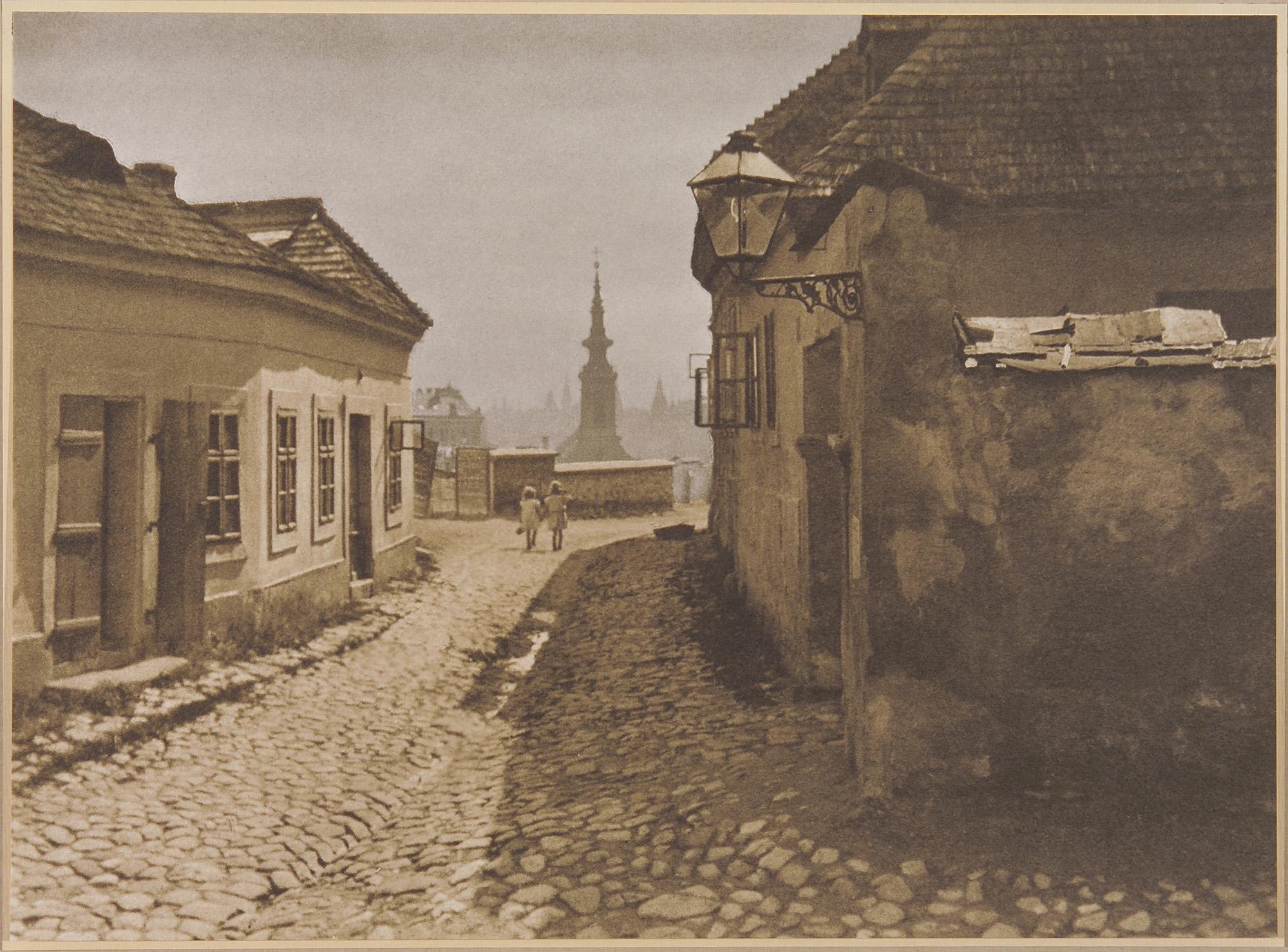 Fotó: Faix Jacques: Tabán, 1910 k. © Magyar Fotográfiai Múzeum