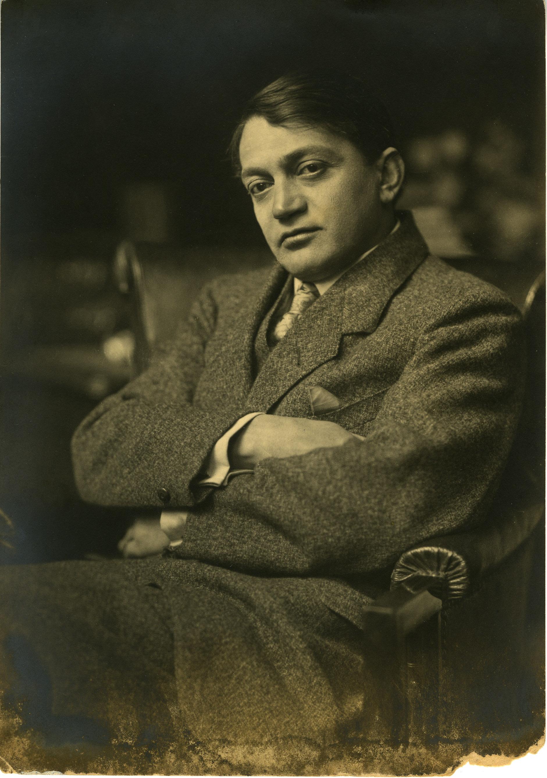 Fotó: Székely Aladár: Ady Endre, 1912 k. © Magyar Fotográfiai Múzeum
