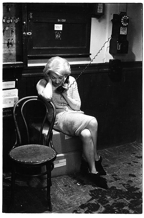 Marlene Dietrich, 1961, Boston.<br />Fotó: Ny. Prof. Andrew Davidhazy/Dávidházy András, RIT<br />