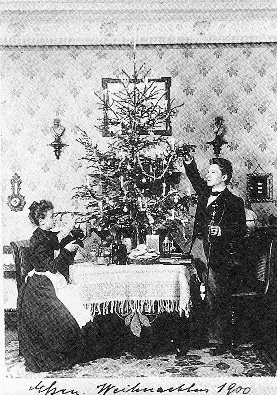Fotó: Anna und Richard Wagner: Önarckép, 1900. karácsony © Heimatmuseum Charlottenburg