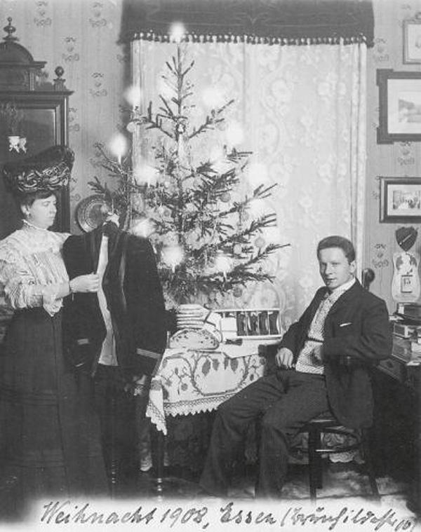 Fotó: Anna und Richard Wagner: Önarckép, 1908. karácsony © Heimatmuseum Charlottenburg