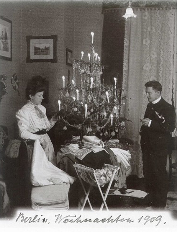 Fotó: Anna und Richard Wagner: Önarckép, 1909. karácsony © Heimatmuseum Charlottenburg