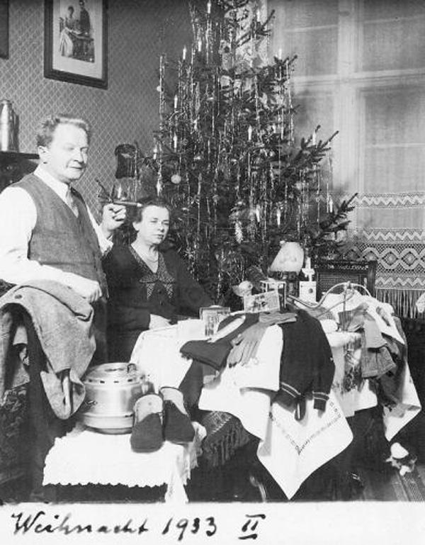 Fotó: Anna und Richard Wagner: Önarckép, 1933. karácsony © Heimatmuseum Charlottenburg