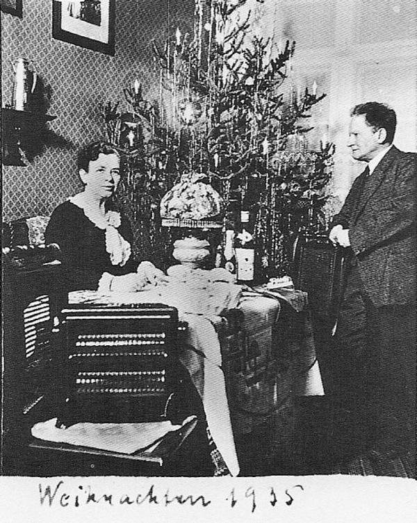 Fotó: Anna und Richard Wagner: Önarckép, 1935. karácsony © Heimatmuseum Charlottenburg