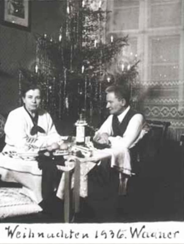 Fotó: Anna und Richard Wagner: Önarckép, 1936. karácsony © Heimatmuseum Charlottenburg
