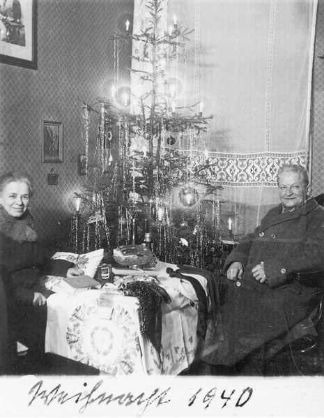 Fotó: Anna und Richard Wagner: Önarckép, 1940. karácsony © Heimatmuseum Charlottenburg