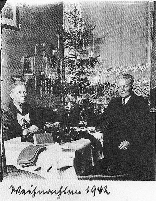 Fotó: Anna und Richard Wagner: Önarckép, 1942. karácsony © Heimatmuseum Charlottenburg