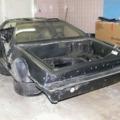 A karosszéria váz 1. / Chassis and fiberglass 1.