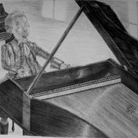 Mozart karikatúra