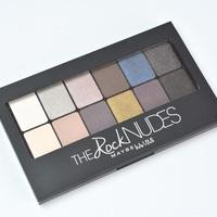Maybelline The Rock Nudes paletta teszt