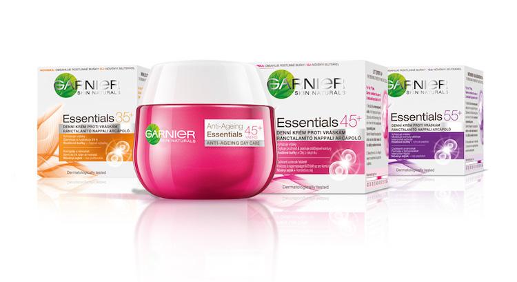 Megújult a Garnier Essentials ránctalanító termékcsalád