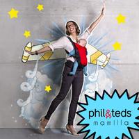 Utazz könnyedén és szabadon! A Phil&Teds Airlight babahordozóval!