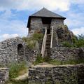 Salgó vára, amire a törökök faágyúval céloztak