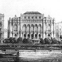 A Pesti Vigadó, ahol kikiáltották Budapestet