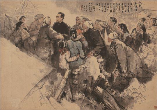 1.1_Zhou Sicong_A n+ęp +ęs a minisztereln+Âk_ 151x217.5cm.jpg