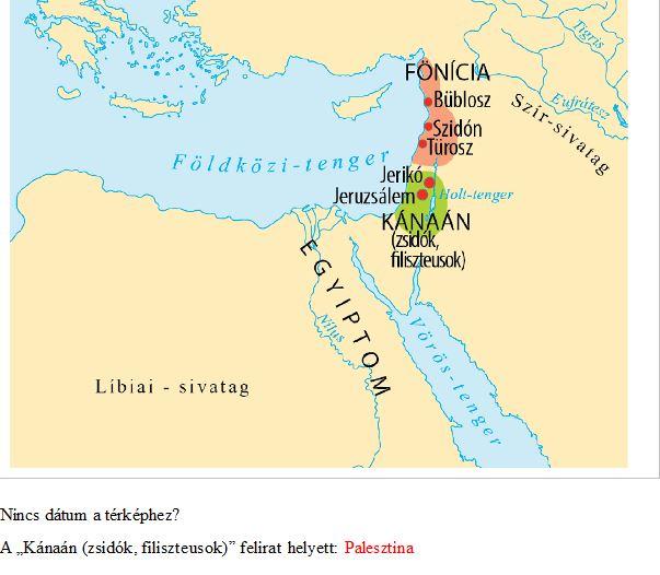 kánaán térkép Stumpf András: Zsidók és filiszteusok, Kánaán és Palesztina