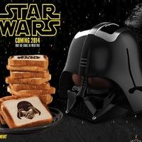 Piríts kenyeret Darth Vaderben!